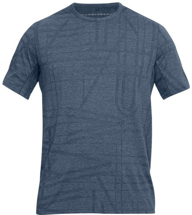 Under Armour Threadborne Elite Short Sleeve Blue