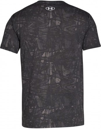 Under Armour Streaker Printed Short Sleeve Crew Grey