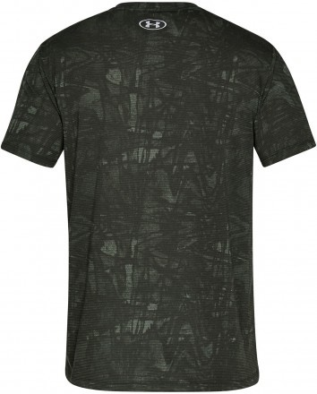 Under Armour Streaker Printed Short Sleeve Crew Green