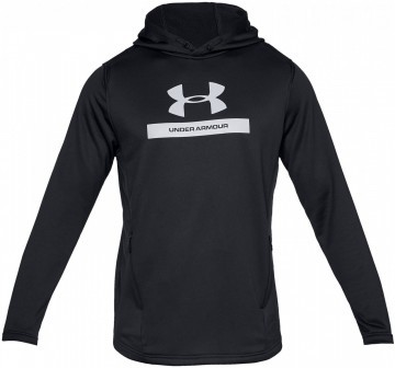 Under Armour  Mk1 Terry Graphic Hoodie Black