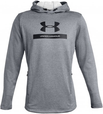 Under Armour Mk1 Terry Graphic Hoodie Grey