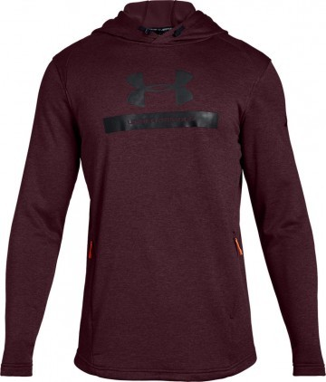 Under Armour Mk1 Terry Graphic Hoodie Red
