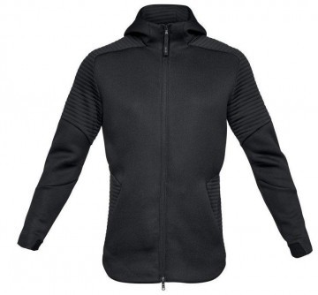 Under Armour Unstoppable Move Full Zip Hoodie Black