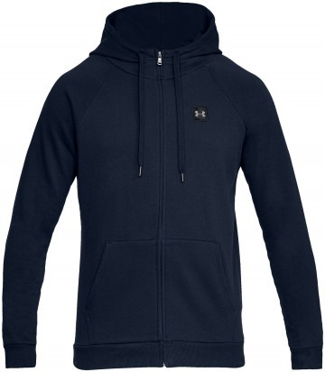 Under Armour UA Rival Fleece FZ Hoodie Navy