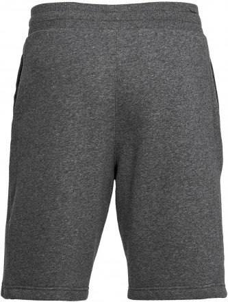 Under Armour Rival Fleece Short Grey