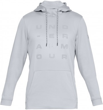 Under Armour Fleece Tempo Po Hoodie Grey