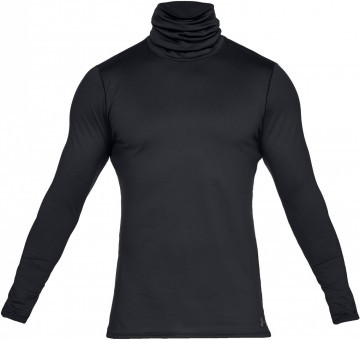 Under Armour Fitted ColdGear Funnel Neck Black