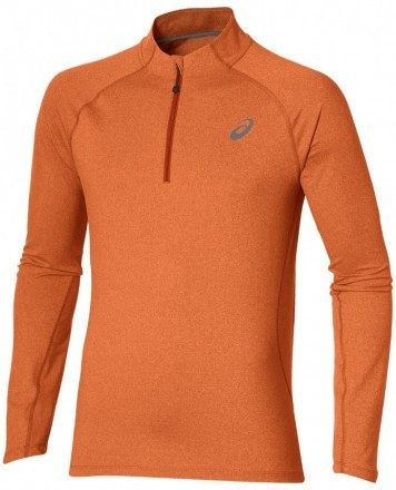 Asics LS 1/2 Zip Jersey Orange