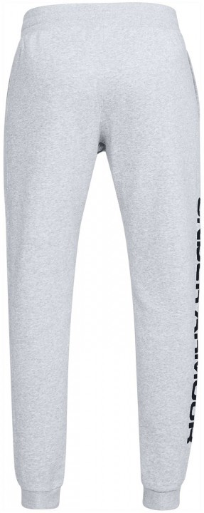 Under Armour Rival Fleece Script Jogger Grey