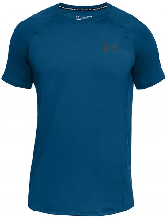 Under Armour Raid 2.0 Short Sleeve Left Chest Blue