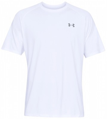 UA Under Armour Tech SS Tee 2.0 White