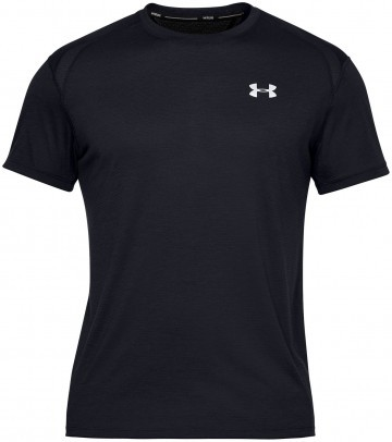 Under Armour UA Streaker 2.0 Short Sleeve Black