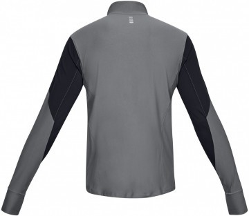 Under Armour UA Qualifier Half Zip Black Gray