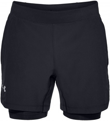 Under Armour Qualifier Speedpocket 2in1 Short