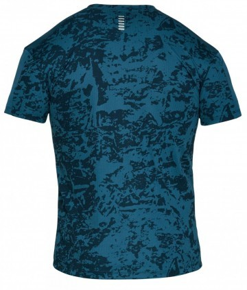 Under Armour UA Speed Stride Printed Shore Sleeve Blue
