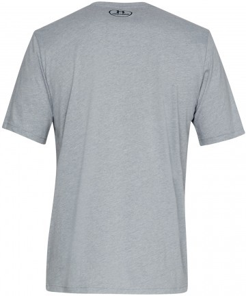 Under Armour Sportstyle Left Chest Short Sleeve Grey
