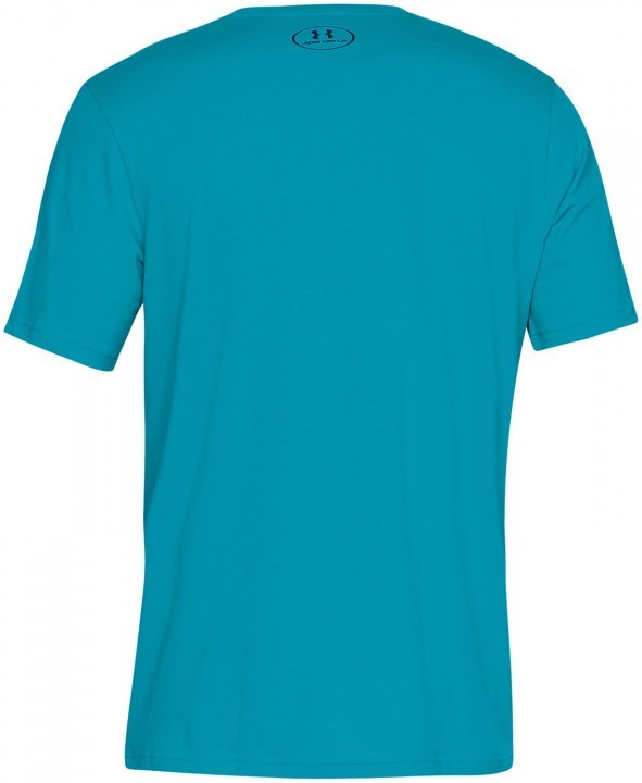 Under Armour Sportstyle Left Chest Short Sleeve Blue