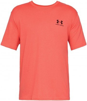 Under Armour Sportstyle Left Chest Short Sleeve Orange
