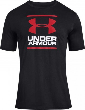 Under Armour Foundation Short Sleeve Black