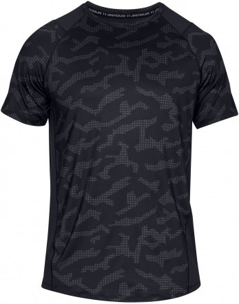 Under Armour UA MK1 Short Sleeve Printed Black