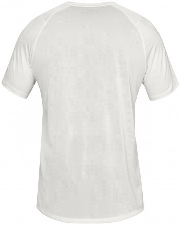 Under Armour Short Sleeve Printed White
