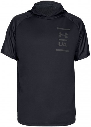 Under Armour MK1 Terry Short Sleeve Hood Black