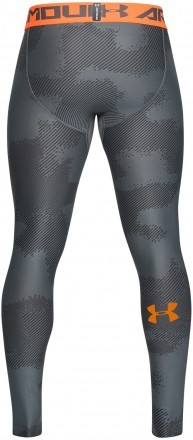 Under Armour UA Armour Legging Printed Grey Orange