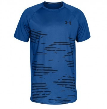 Under Armour Mk1 Short Sleeve Camo Blue