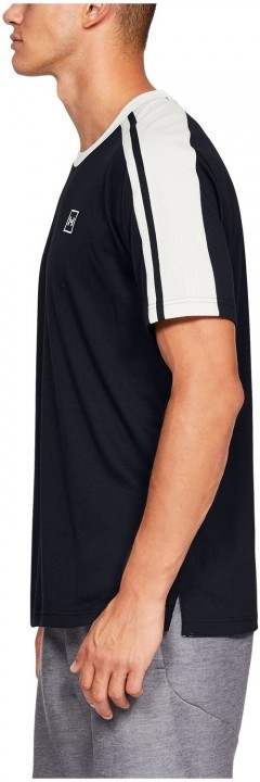 Under Armour Unstoppable Striped SS Black White