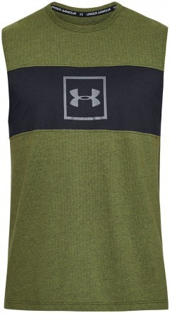 Under Armour Sportstyle Cotton Mesh Tank