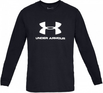 Under Armour UA Sportstyle Logo LS Black