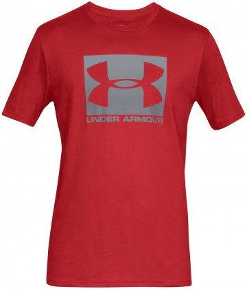 Under Armour UA Boxed Sportstyle Short Sleeve Red