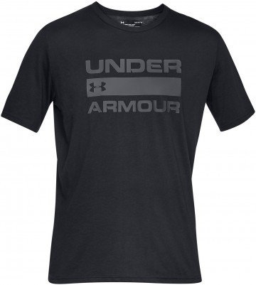 Under Armour UA Team Issue Wordmark Short Sleeve Black