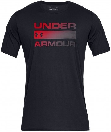 Under Armour Team Issue Wordmark Short Sleeve Black