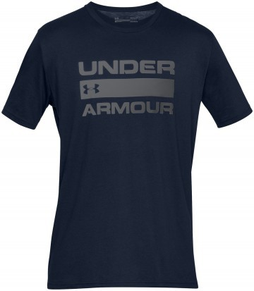 Under Armour Team Issue Wordmark Short Sleeve Navy