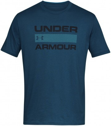 Under Armour Team Issue Wordmark Short Sleeve Blue