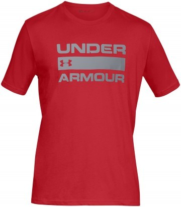 Under Armour Team Issue Wordmark Short Sleeve Red