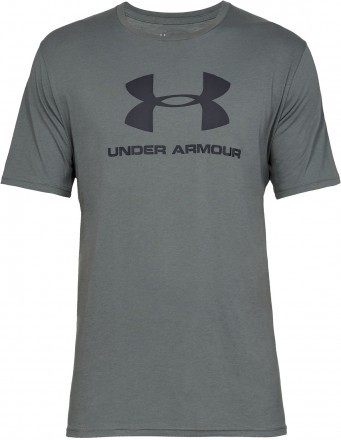 Under Armour Sportstyle Logo Short Sleeve Green