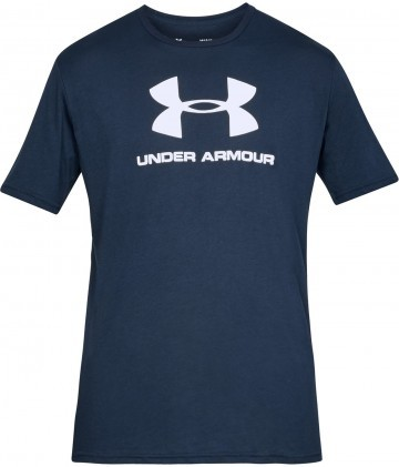 Under Armour Sportstyle Logo Short Sleeve Navy