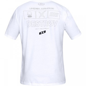 Under Armour UA Wait For Nobody Short Sleeve White