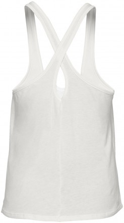 Under Armour Graphic Script X-Back Tank White