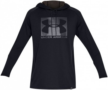 Under Armour Lighter Longer PO Hoodie Black