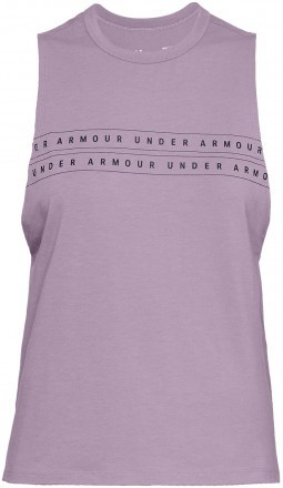 Under Armour Graphic Woman Muscle Tank Pink
