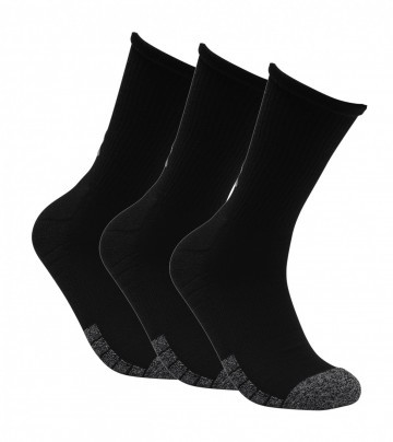 Under Armour Heatgear Crew Black 3pack