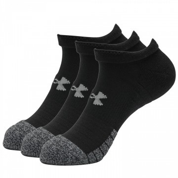 Under Armour Heatgear No Show Black 3pak