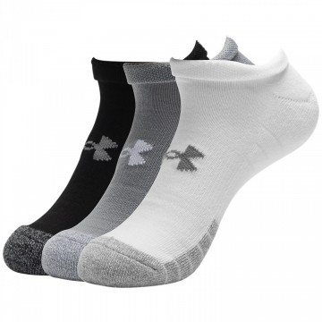 Under Armour Heatgear No Show Mix 3pak