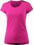 Asics Short Sleeve Top Pink Black