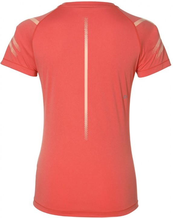 Asics Icon Short Sleeve Coralicious Heather