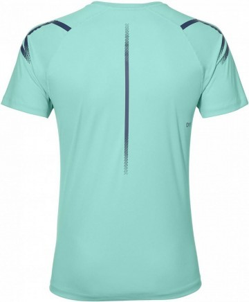 Asics Icon Short Sleeve Top Green