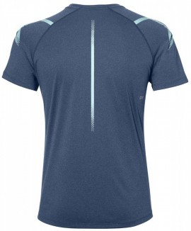 Asics Icon Short Sleeve Top Dark Blue